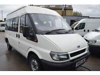 2003 Ford TRANSIT 300 MWB TD MINI BUS 9 seat in GOOD Condition with MOT Until DECEMBER 2017