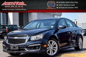2015 Chevrolet Cruze 2LT|Sunroof|Pioneer Audio|Nav|Backup_Cam|Bl