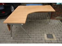 Executive L-Shaped Desk - Must sell quick so LOW PRICE