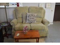 Green 2 Seat Sofa and 2 Armchair Suite - GT 068