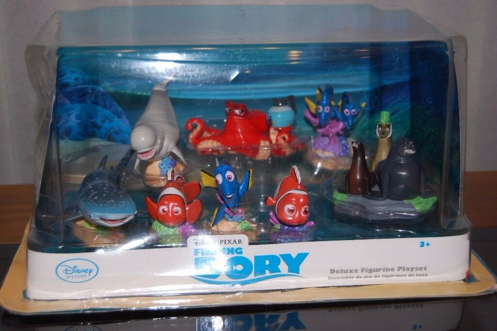Finding Dory figurine set from Disney - used but like new
