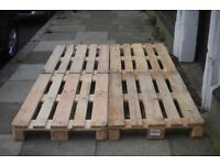 Pallets Indoor and Outdoor Use