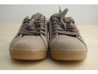 Men's Wrangler Canvas Trainers Casual Shoes Size 8 Brand New Brown