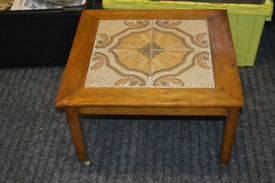 TILED TOP OCCASIONAL TABLE