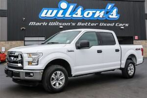 2016 Ford F-150 XLT 4X4 5.0 V8!  REAR CAMERA! TRAILER+TOW PACKAG