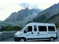 Citroen relay campervan 4/6 berth