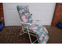 Sunloungers (Pair) - Good Condition