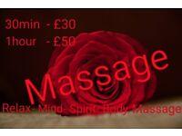 Full body massage in Central London (SW1V)
