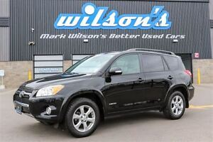 2012 Toyota RAV4 LIMITED 4WD!  LEATHER! NAVIGATION! SUNROOF! $72