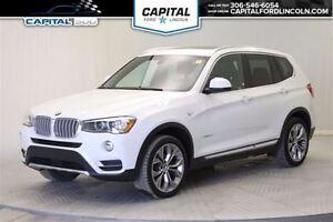2016 BMW X3 xDrive28i AWD **New Arrival**