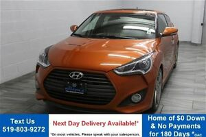 2013 Hyundai Veloster Turbo! w/ LEATHER! NAVIGATION! PANORAMIC S