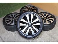 """Genuine VW Seattle 17"""" Alloy wheels 5x112 VW Passat Golf Caddy Eos Audi A3 A4 Alloys"""