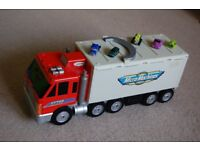 Micro Machines Truck with Cars.