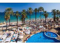 2 return flight tickets Birmingham - Ibiza, 29.Jun-3.Jul (changeable dates)