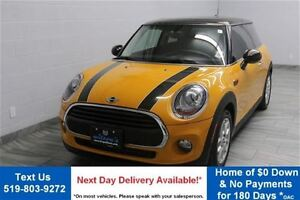 2016 MINI Cooper 3 Door AUTOMATIC w/ LEATHER! HEATED SEATS! POWE