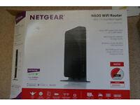 NETGEAR N600 WiFi Dual Band Gigabit Router - Model WNDR3700v5 as new