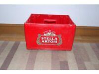 Stella Artois beer crate