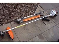 stihl combo km 56 with extended hedgetrimmer attachment