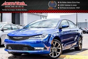 2015 Chrysler 200 S AWD|Sun&Sound,Comfort Pkgs|Nav|Leather|R.Sta