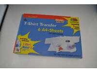 DECAdry T-Shirt Transfer Paper - A4 - 5pk