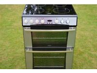 Belling Ceramic Hob-Double Oven-Electric Cooker