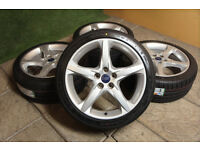 FORD Alloy wheels - 8 Sets available - 4x108 5x108 Focus Mondeo Transit Connect Galaxy Fiesta ST