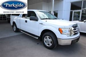 2010 Ford F-150 XLT Supercab 4x2 4.6L V8 with Cap, Low kms