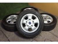 "Genuine FORD Transit Custom 16"" Alloy wheels 5x160 Van Alloys Load Rated Tourneo"