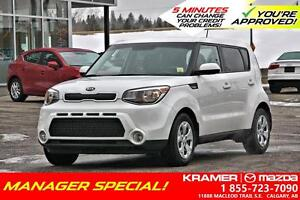 2014 Kia Soul 1.6L LX *MANAGERS SPECIAL*