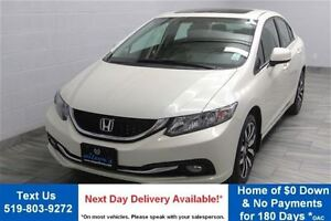 2013 Honda Civic Touring! w/ LEATHER! NAVIGATION! HEATED SEATS!