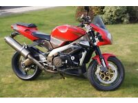 Aprilia Tuono Fighter Motorbike 2004 Excellent Condition