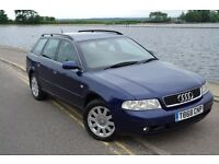 Audi A4 Avant Estate 2.5 TDI V6 Six Speed in Blue - Family Car - Reliable