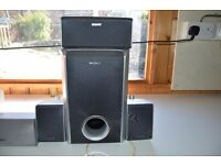 Speakers and Subwoofer