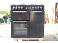 leisure dual fuel range cooker 90
