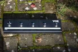 VOX 4 CHANNEL FLOOR PEDAL