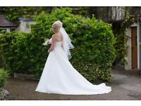 lovely wedding dress size 12