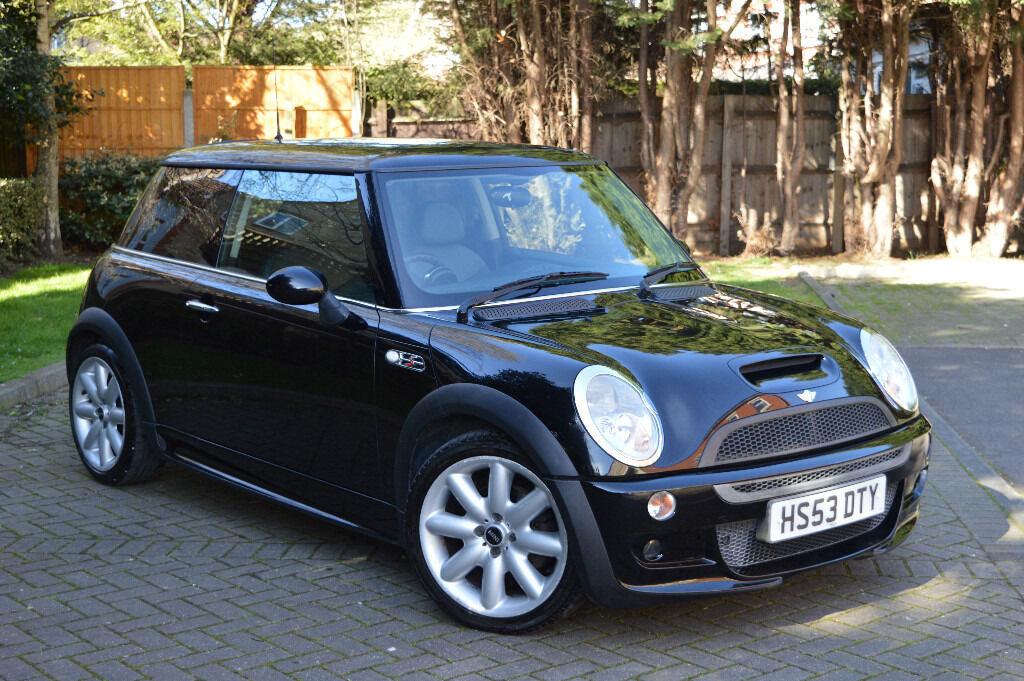 2004 mini cooper s jcw john cooper works body kit supercharged stunning black in romford. Black Bedroom Furniture Sets. Home Design Ideas