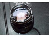 150 mm BRONICA SQ ZENZANON -S lens.