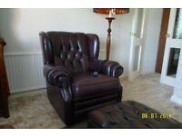 Thomas Lloyd Electric Recliner Chair, Brown