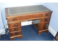 Vintage victorian style writing desk