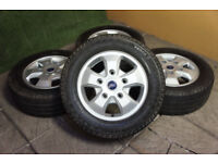 "Genuine FORD Transit Custom 16"" Alloy wheels 5x160 Van Alloys Load Rated Tourneo"