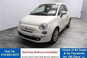 2012 Fiat 500C C LOUNGE! 5-SPEED CONVERTIBLE! LEATHER! PARKING S