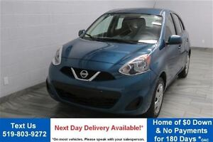2015 Nissan Micra SV 5-SPEED w/ BLUETOOTH! POWER PACKAGE! CRUISE