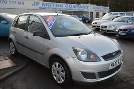 2007 FORD FIESTA STYLE CLIMATE SILVER ***NEW MOT*** CHEAP 5 FIVE DOOR CAR