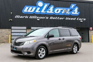 2015 Toyota Sienna 7-PASS! REAR CAMERA! DUAL CLIMATE ZONES! QUAD