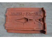 Terracotta Roof Tiles (Tuileries de Beauvais)