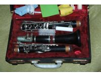 Boosey and Hawkes wooden clarinet