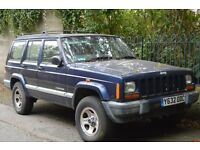 Jeep Cherokee XJ for repair - runs and drives but needs core plug replacement