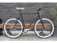 Brand new TEMAN single speed fixed gear fixie bike/ road bike/ bicycles + 1year warranty 11io