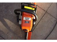 stihl 023 chainsaw in excellent working order fitted with new 16 inch bar and chain
